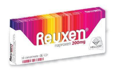 REUXEN ® prim generic naproxen, AINS sigur si eficace în terapia durerii