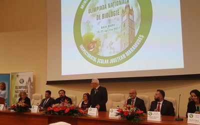 Olimpiada Nationala de Biologie 2017 – 19-23 Mai Baia Mare